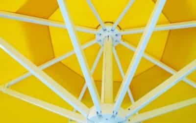Et si vous changiez pour un parasol rond?